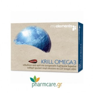 MyElements Krill Omega 3 30caps