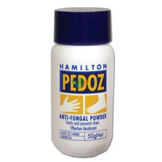 Hamilton Pedoz Anti - Fungal Powder Δερματική πούδρα 50gr