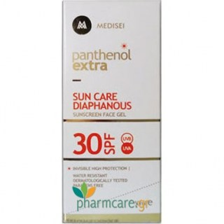 Panthenol Extra Sun Care Diaphanous Αντιηλιακό Προσώπου SPF30 50ml