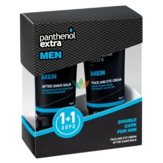 Medisei Panthenol Extra Men Promo Face & Eye Cream 75ml + ΔΩΡΟ After Shave Balm 75ml