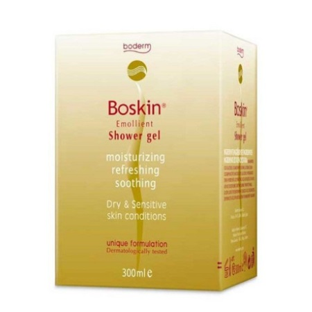 Boderm Boskin Emollient Shower Gel 300ml