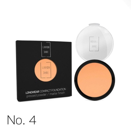 Lavish Care Longwear Compact Foundation Pressed Powder Matte Finish 4 12gr