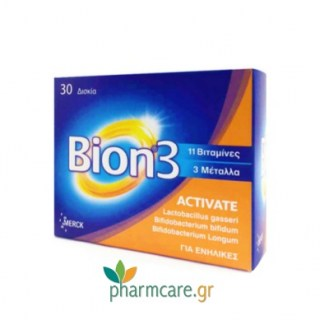 Bion 3 Activate 30 δισκία