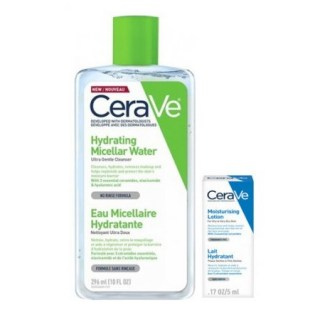 Cerave Micellar Cleansing Water 295ml +ΔΩΡΟ Moisturizing Lotion 5ml