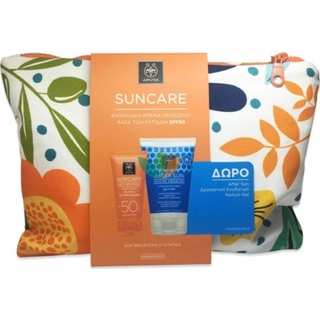 Apivita Set Suncare Anti-Wrinkle Face Cream SPF50 50ml + ΔΩΡΟ Sunbody After Sun Cooling Cream-Gel με Σύκο & Αλόη 100ml