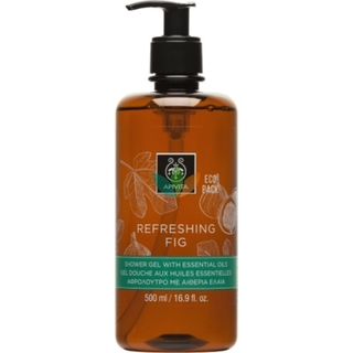 Apivita Eco Pack Refreshing Fig Shower Gel with Essential Oils Αφρόλουτρο Σύκο με Αιθέρια Έλαια 500ml