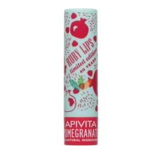 Apivita Lip Care Limited Edition Stick Pomegranate Ενυδατικό με Ρόδι 4.4gr