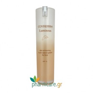 Coverderm Luminous Skin Whitening Multi-Valent System for Face SPF15 30ml