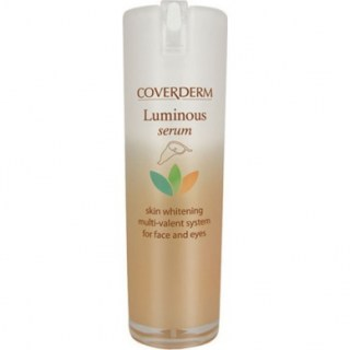 Coverderm Luminous Serum Skin Whitening Multi-Valent System for Face & Eyes Λευκαντικός Ορός Προσώπου & Ματιών 20ml