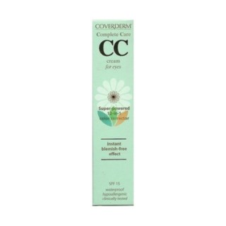 Coverderm Complete Care CC Cream for Eyes SPF15 Light Beige 15ml