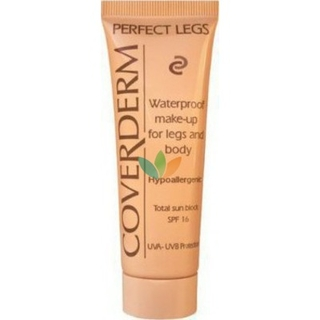 Coverderm Perfect Legs Αδιάβροχο Make-up Απόχρωση 2 με Αντιηλιακή Προστασία SPF16 50ml