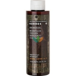 Korres Mountain Pepper / Bergamot / Coriander Ανδρικό Αφρόλουτρο 250ml