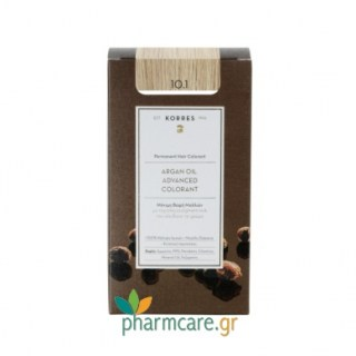 Korres Argan Oil Advanced Colorant 10.1 Ξανθό Πλατίνας Σαντρέ 50ml