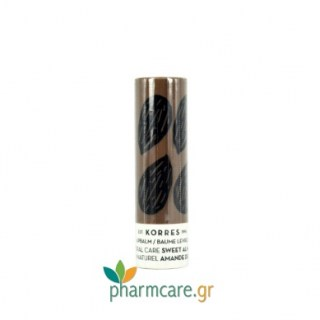 Korres Lipbalm Natural Care Sweet Almond Stick με Γλυκό Αμύγδαλο 5ml