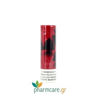 Korres Lipbalm Care & Colour Wild Berries Stick με Άγρια Βατόμουρα 5ml