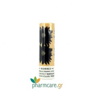 Korres Lipbalm Sun Protect Sunflower Stick με Ηλίανθο 5ml