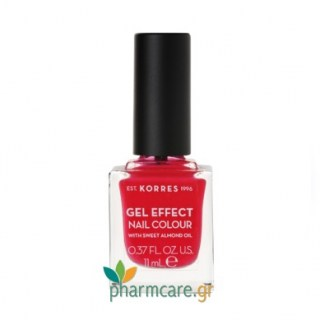Korres Gel Effect Nail Colour Βερνίκι Νυχιών 19 Watermelon 11ml