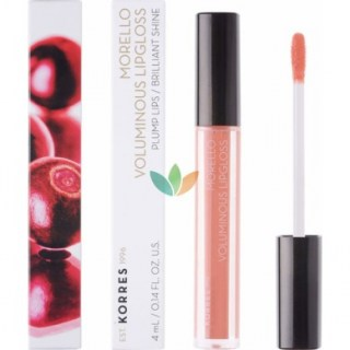 Korres Morello Voluminous Lipgloss 19 Water Melon Εξαιρετική Λάμψη 4ml