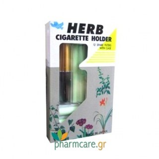 Vican Herb Cigarette Holder Gold + 12 Φίλτρα + Θήκη