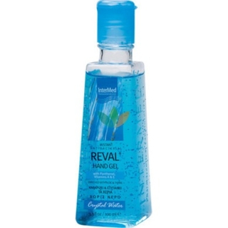 Intermed Reval Plus Hand Gel Crystal Water Αντισηπτικό Χεριών 100ml