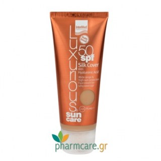 Intermed Luxurious Sun Care Silk Cover BB SPF50 Ανοιχτή Απόχρωση 75ml
