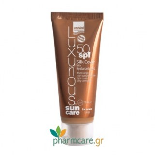 Intermed Luxurious Sun Care Silk Cover BB SPF50 Σκούρα Απόχρωση 75ml