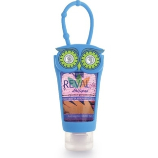 Intermed Reval Plus Antiseptic Hand Gel Lollipop Κουκουβάγια Μπλε 30ml
