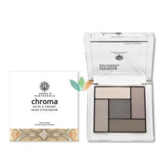 Garden of Panthenols Σκιά Ματιών Chroma Saton & Creamy Nude Eyeshadow No1 6gr