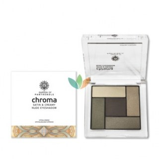 Garden of Panthenols Σκιά Ματιών Chroma Saton & Creamy Nude Eyeshadow No3 6gr