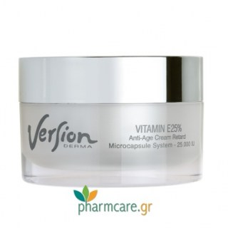 Version Derma Vitamin E 25% Anti-Age Cream Retard 50ml