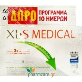 Omega Pharma XL-S Medical Fat Binder 180 κάψουλες + 60 κάψουλες