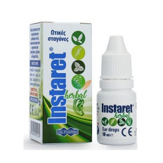Uni-Pharma Instaret Ear Drops Ωτικές σταγόνες 10ml