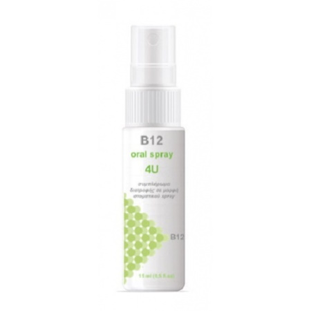 B12 Oral Spray 4U 15ml
