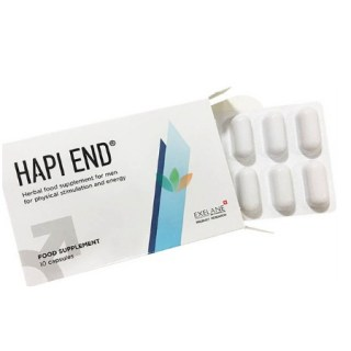 Hapi End Food Supplement 10 κάψουλες