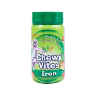 Vican Chewy Vites Iron Συμπλήρωμα Σιδήρου για Παιδιά 60 μασώμενα δισκία