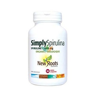 New Roots Simple Spirulina 1000mg 90 ταμπλέτες