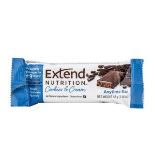 Extend Nutrition Anytime Bar Μπάρα Πρωτεΐνης Cookies & Cream 42gr