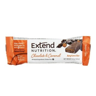Extend Nutrition Anytime Bar Μπάρα Πρωτεΐνης Chocolate & Caramel 42gr