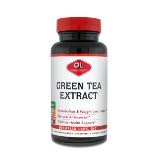 Olympian Labs Green Tea Extract 500mg 60 κάψουλες