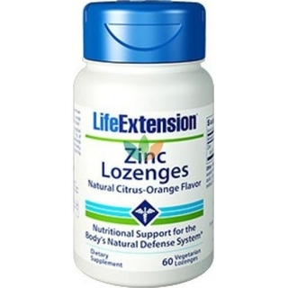 Life Extension Zinc Lozenges 24mg 60 Lozenges