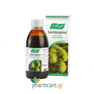 A. Vogel Santasapina Sirup without alcohol 200ml
