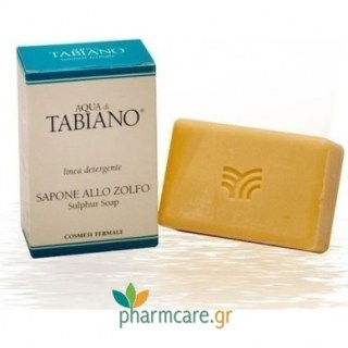 Tabiano Zolfo Cleansing Bar Θειούχο Σαπούνι 100gr