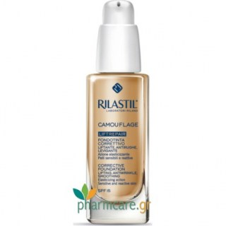 Rilastil Corrective Foundation Liftrepair Modulable Coverage SPF15 20 Natural Αντιρυτιδικό make up Προσώπου με Αντηλιακή Προστασία 30ml