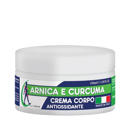 Italia-Brand Arnica & Curcumin Antioxidant Body Cream 100ml