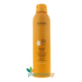 Babe Transparent Sunscreen Wet Skin Διάφανο Αντιηλιακό SPF50  200ml