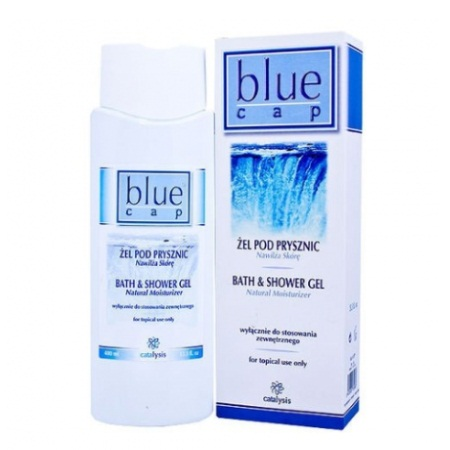 Blue Cap Shower Gel 400ml