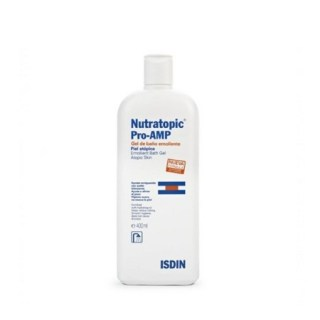 Isdin Nutratopic Pro-Amp Emollient Bath Gel Atopic Skin 400ml