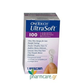 OneTouch Ultra Soft 100 Lancets