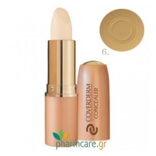 Coverderm Concealer No6 SPF30 6g
