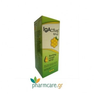 Novapharm IgActive Syrup Southing Cough Syrup Μαλακτικό Σιρόπι 150ml